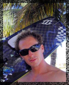 yannick, kitesurfing, kiteboarding instructor